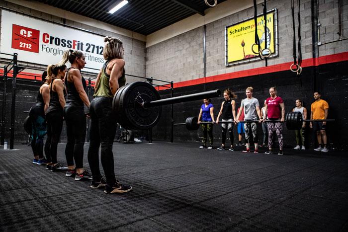 Energie tijdens een training