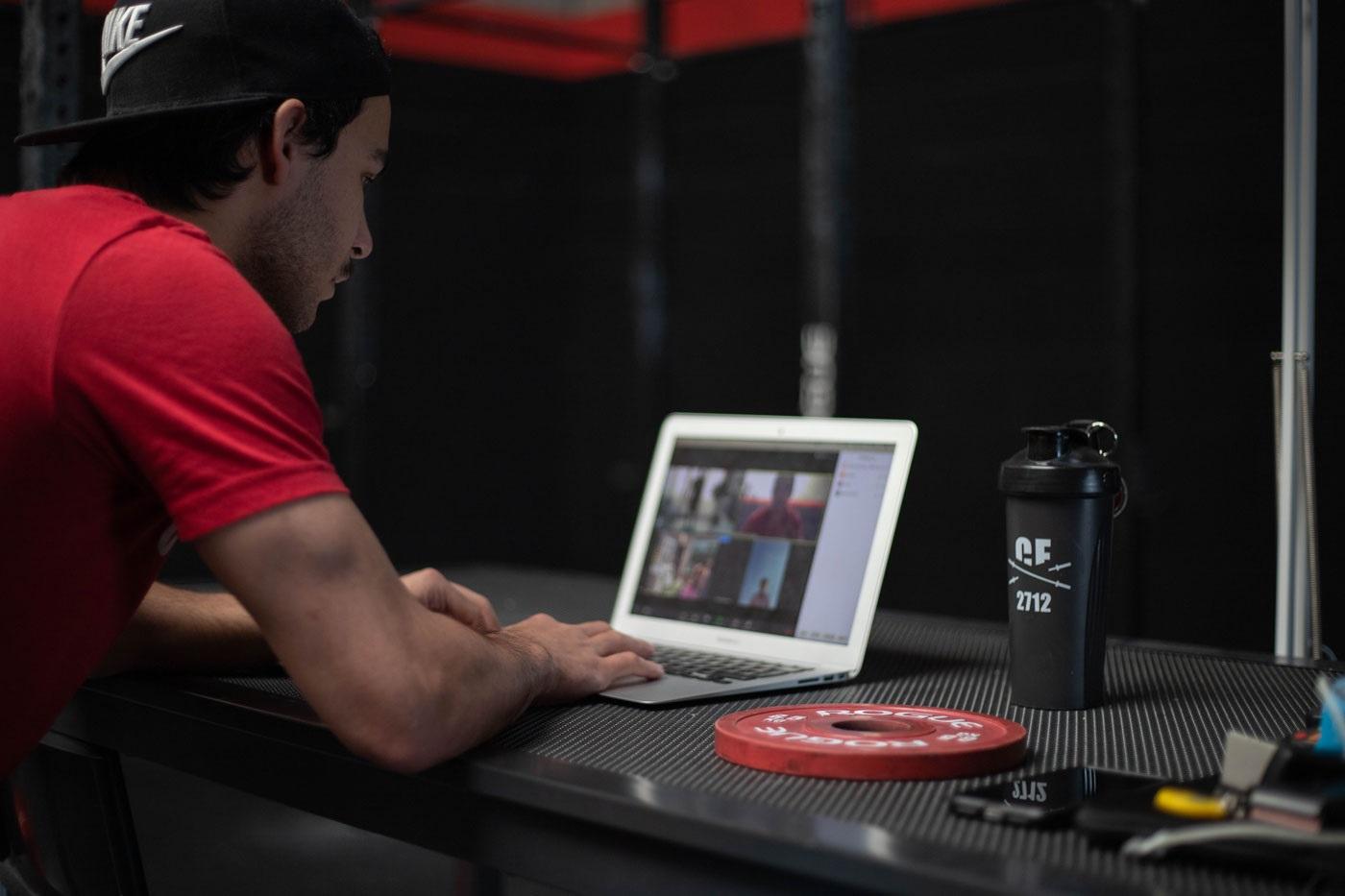 Online CrossFit lessen